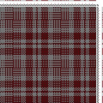 Hand Weaving Draft: Figure 1705, A Handbook of Weaves by G. H. Oelsner, 2S, 2T - Handweaving.net Hand Weaving and Draft Archive