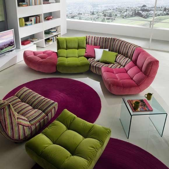 Silhouette Sofa By Chateau Du0027Ax. Great Design, But Not In These Colours.