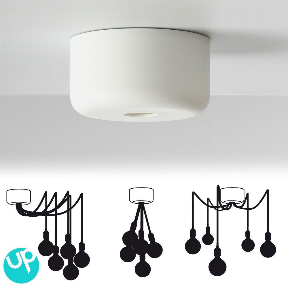 Nouveaut muuto la rosace multiple pour suspension for Luminaire ampoule suspendu