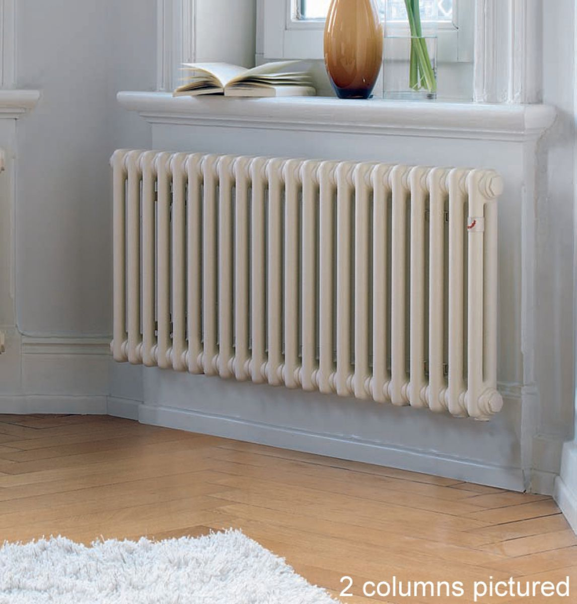 Kitchen Radiator Vertical Column Radiators We Dont Waste Space In Our House