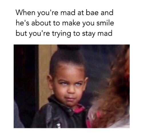 Funny Memes For Bae : When you re mad at bae blue ivy funny p pinterest
