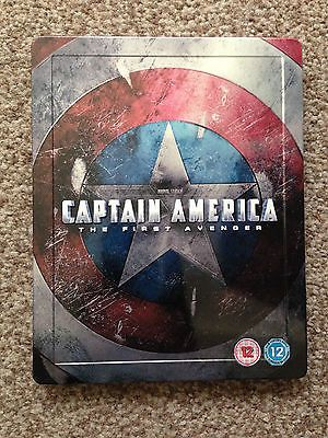 #Captain #america the first #avenger hmv blu ray steelbook mint,  View more on the LINK: 	http://www.zeppy.io/product/gb/2/162204340001/