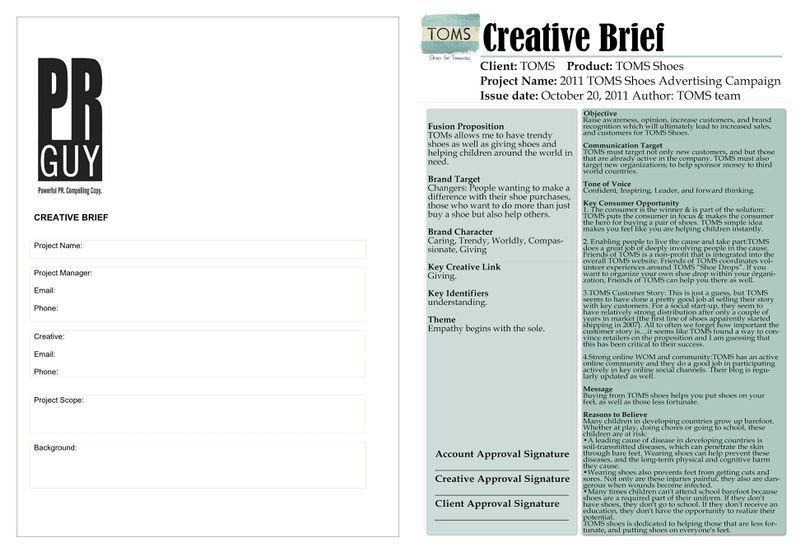 How to write an effective design brief Learn Briefe