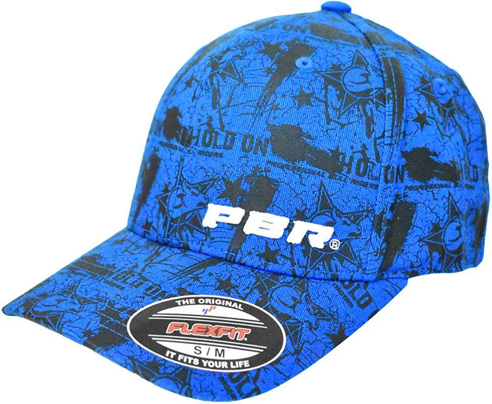 708cec0240372 Boné PBR Azul em Elástico Flexfit Cowboys Boné PBR
