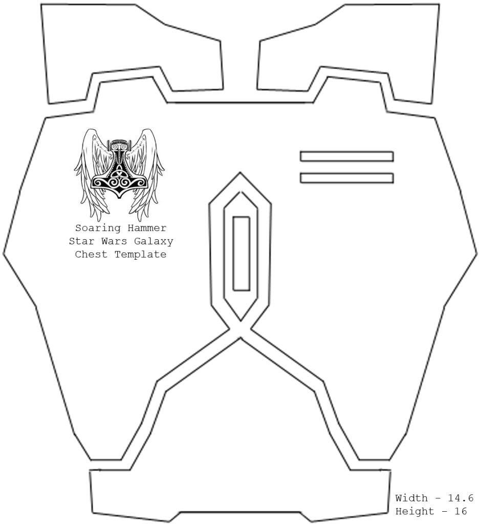 Mandalorian Armor Templates. Ondar S Late Era Crusader Wip within ...