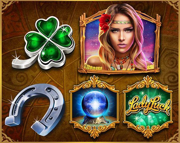 Ladyluck bingo