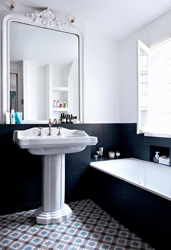 Marie Claire Maison Salle De Bain #1: Un Appartement Alliant Un Design Classique à Un Design Moderne - Marie  Claire Maison