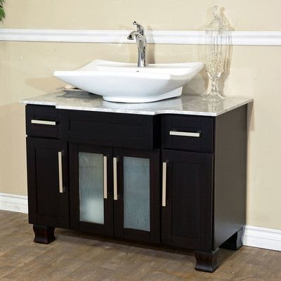 Bellaterra Home 40 Single Bathroom Vanity Set Small Bathroom