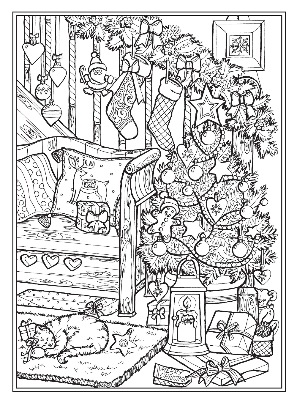 Pin On Xmas Coloring Pages