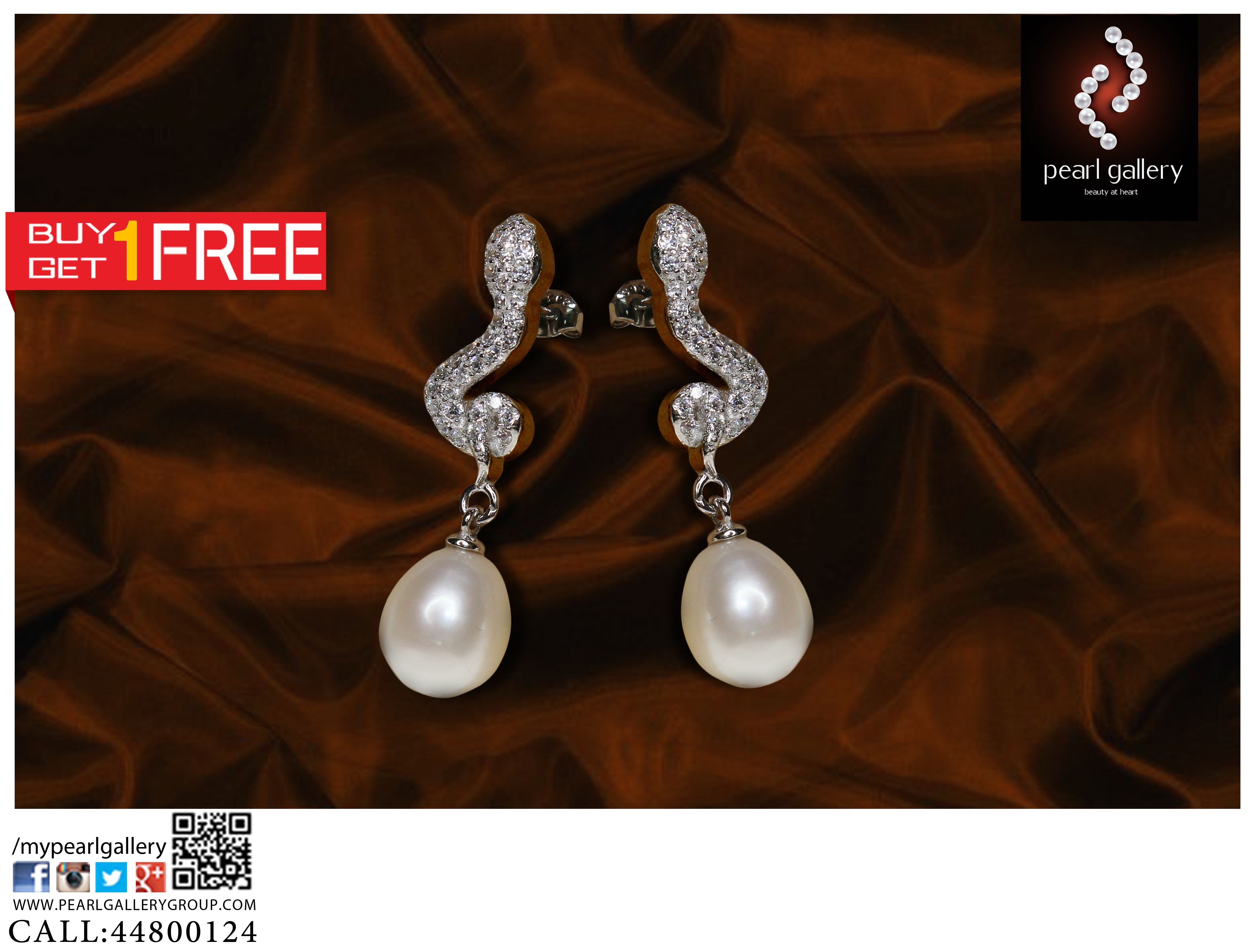 Select From New Collection Fresh Water Pearl Earrings For Women Available At Pearl Gallery Shop For Latest Designs In Pea Pearl Collection Pearls Stuff To Buy