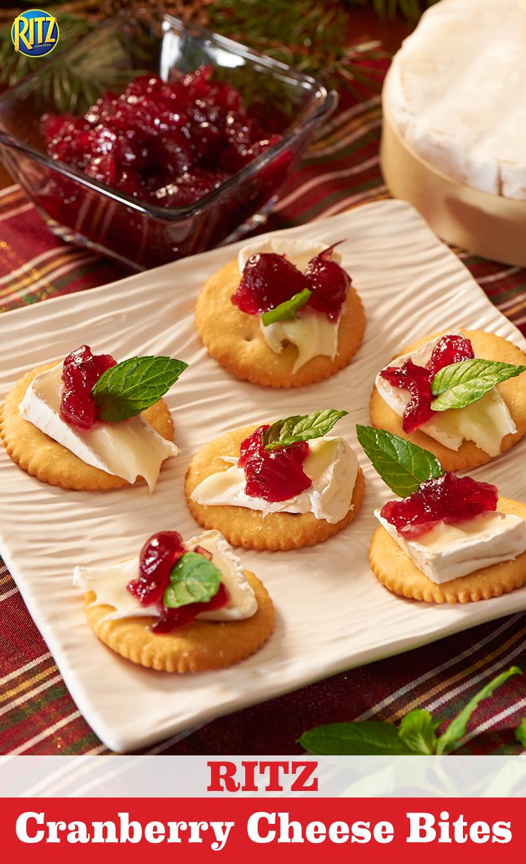 Cranberrycheese bites recipe a good recipe pinterest