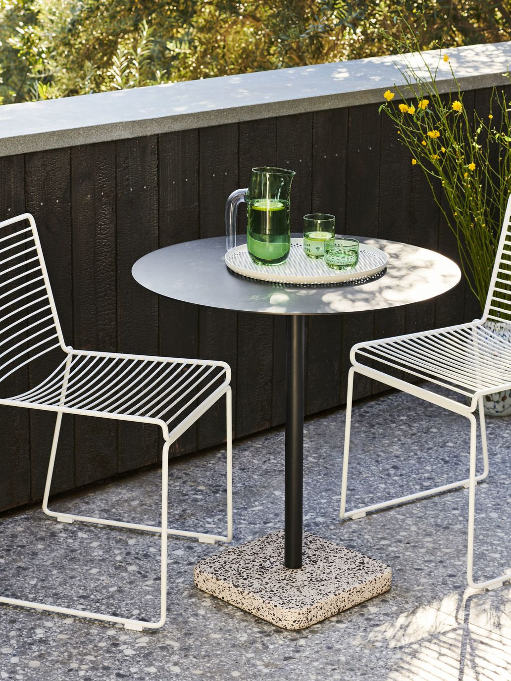 Hay Hee Dining Chair White Outdoor Chairs Design Outdoor Furniture Ideas Backyards Outdoor Dining Chairs