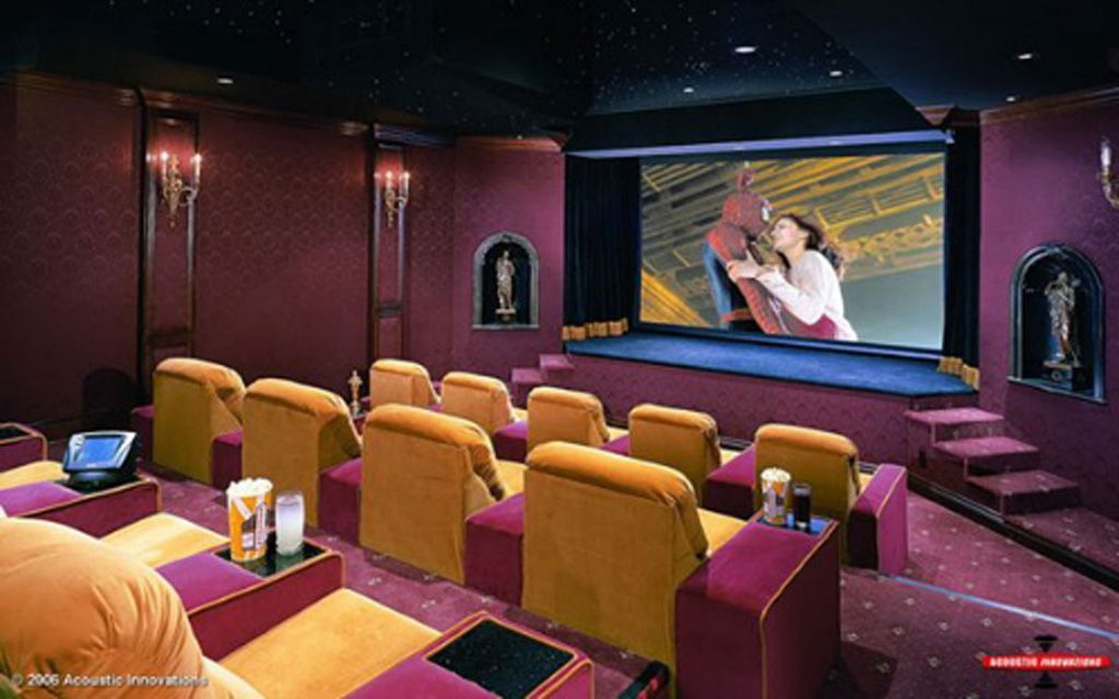 Theater Rooms Movie Room Interior Decor One Of 4 Total Images Luxury Home Theater