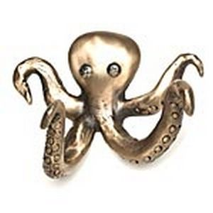 Rosalie sherman designs bronze olga octopus robe or coat hook oh octopus pinterest wall - Octopus towel hooks ...