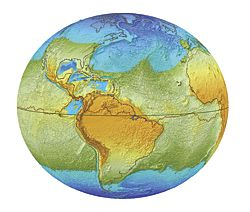 The World S Oceans If The World Stopped Spinning On Its Axis