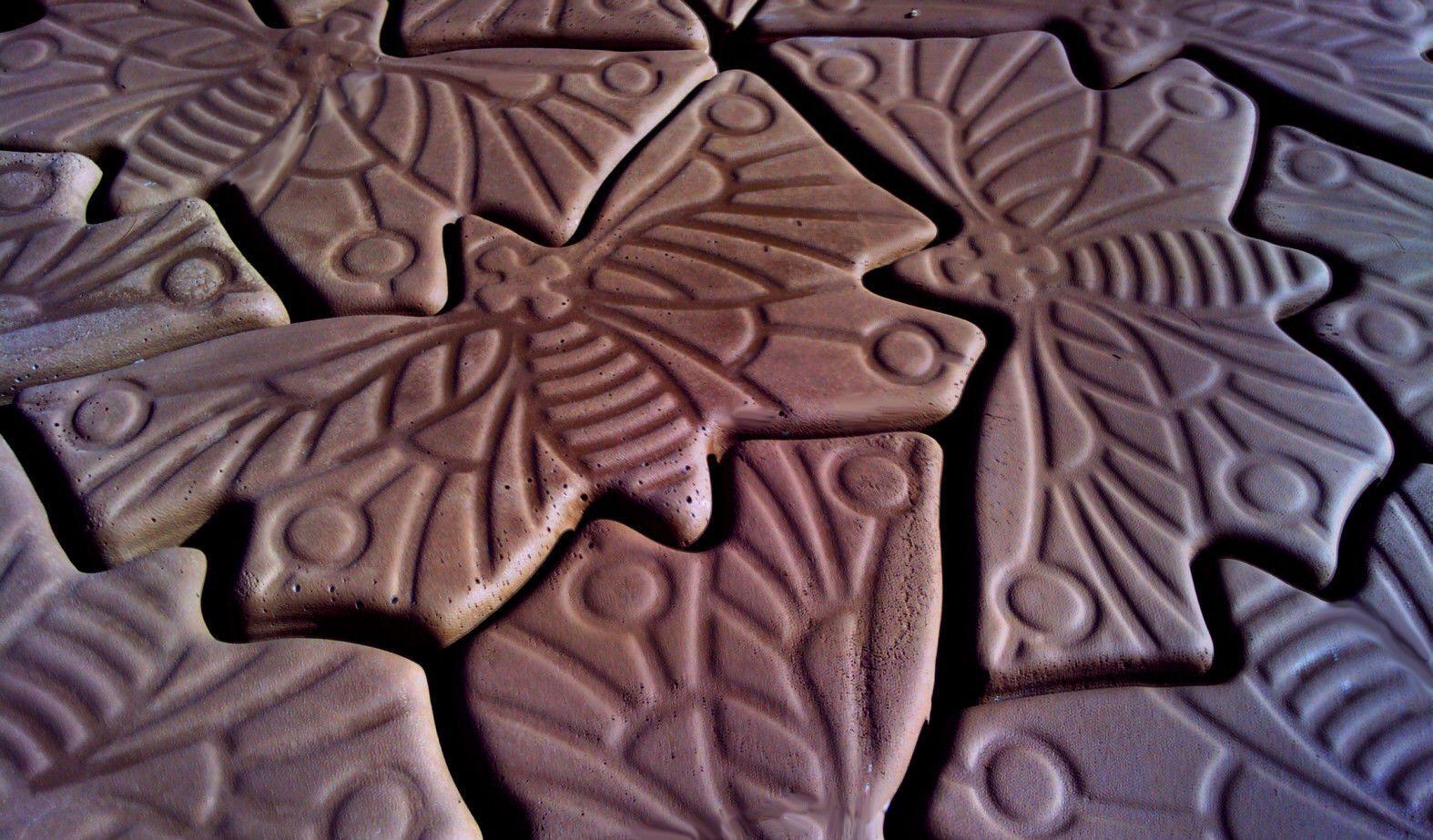 """Decorative Concrete Paver Molds """" Butterfly"""" eBay"""