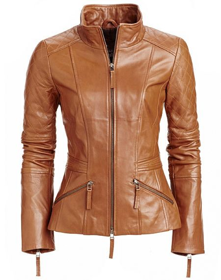Mens Leather Jacket Stylish Genuine Lambskin MJ89