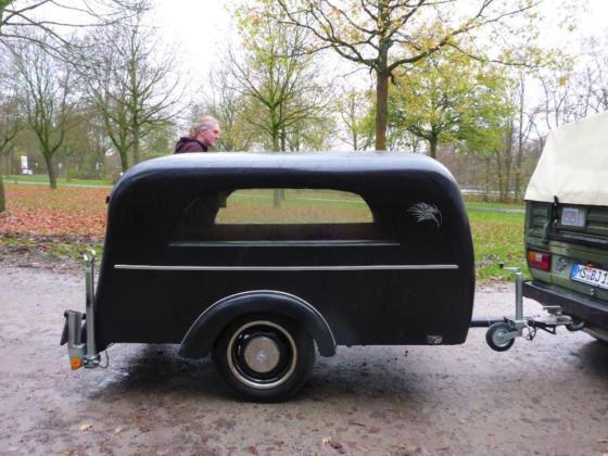 Leichenwagen Bestattungsanhanger Leichenanhanger Oldtimer Tuv 17