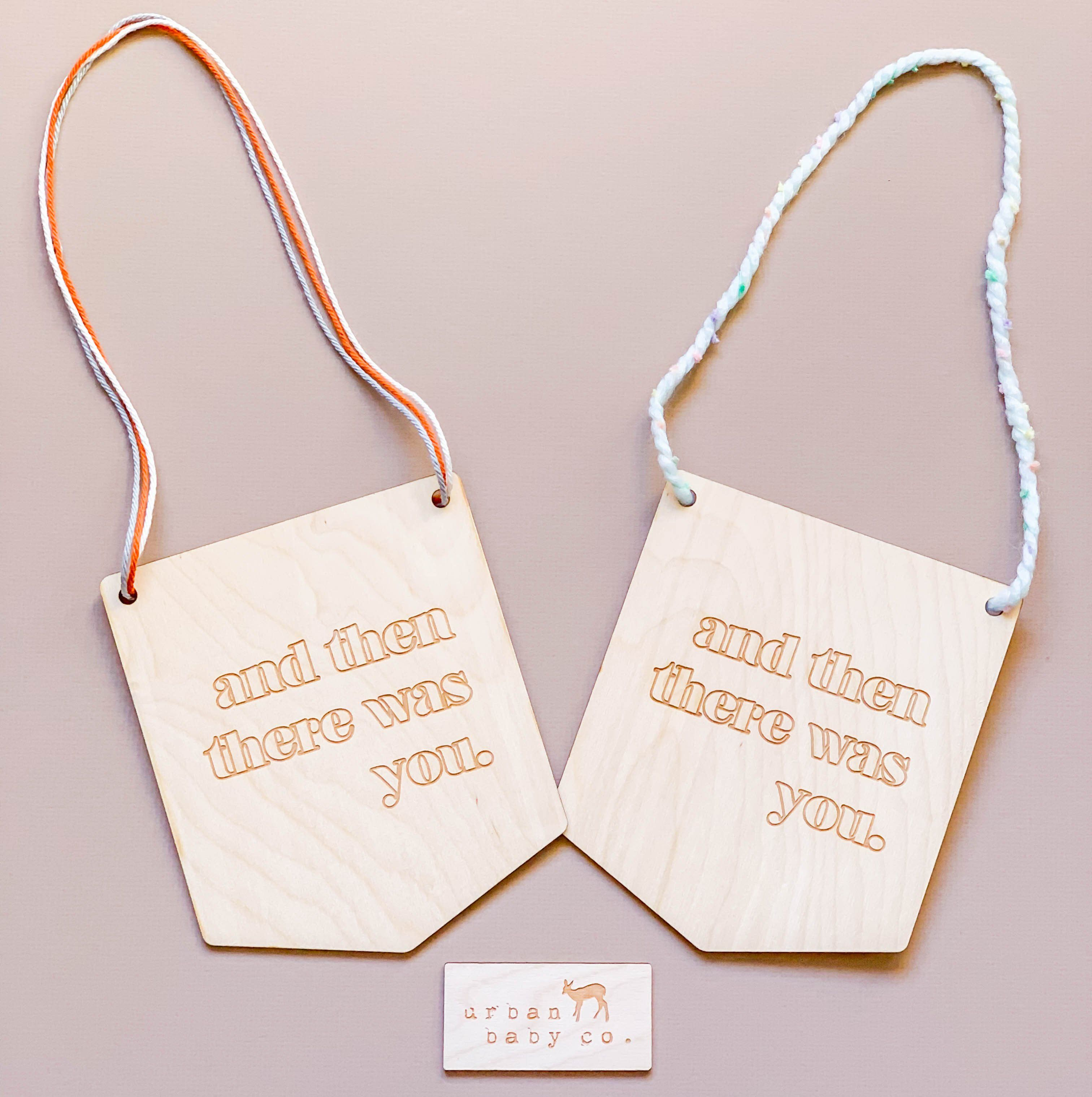 And Then There Was You Nursery Wall Plaque Sweet Dreams