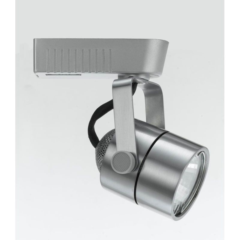 Cal Lighting HT-258A-BS Brushed Steel 1 Light Adjustable MR16 Track Head for HT Series Track Systems