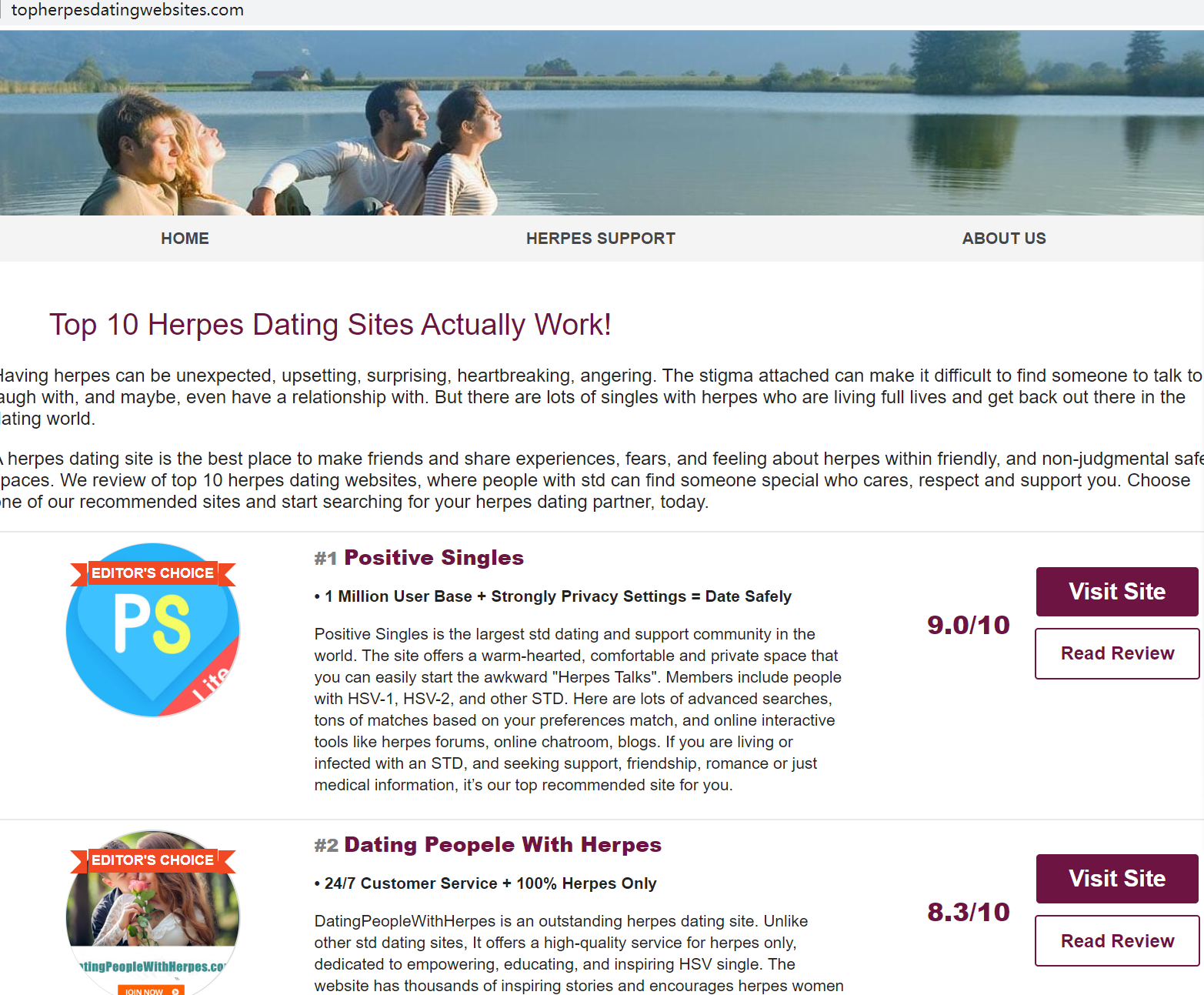 herpes dating only
