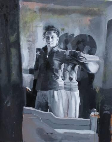 "Saatchi Art Artist Lungu Alina Ada; Painting, "",, Echo"" #art"