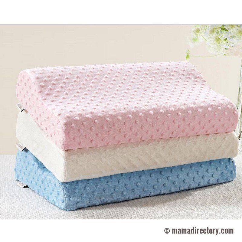 3 colors foam memory pillow orthopedic pillow wedge for easy sleeping during pregnancy