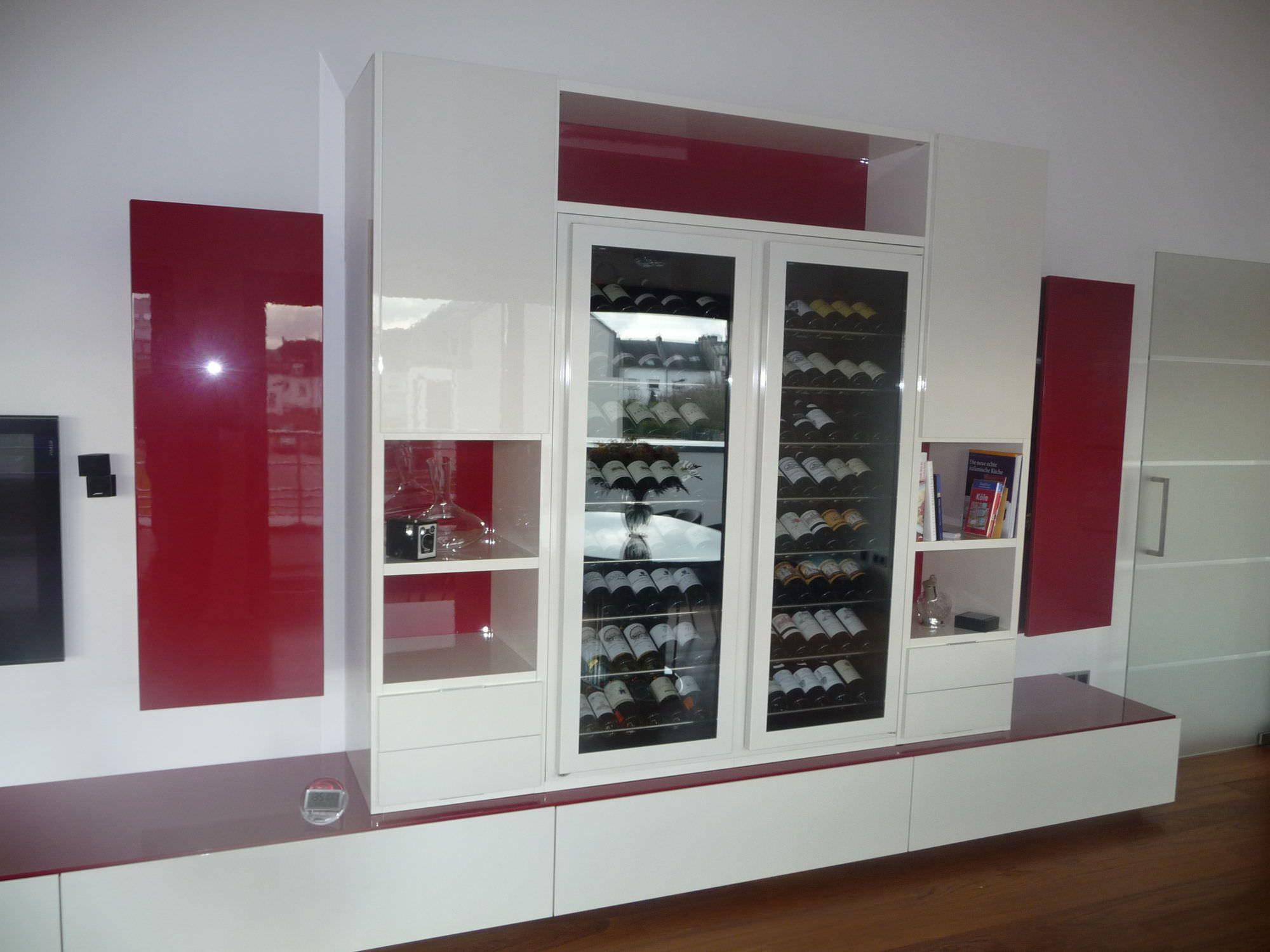 cave a vin meuble salon cave