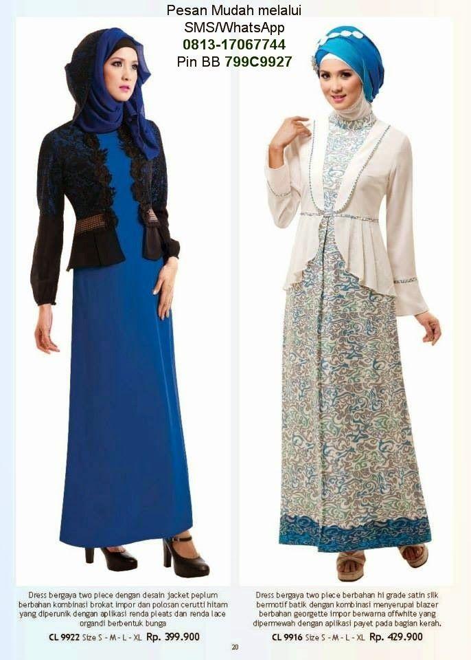 Baju Lebaran Anak Wanita  Cantik Berbaju Muslim  Gamis Modern