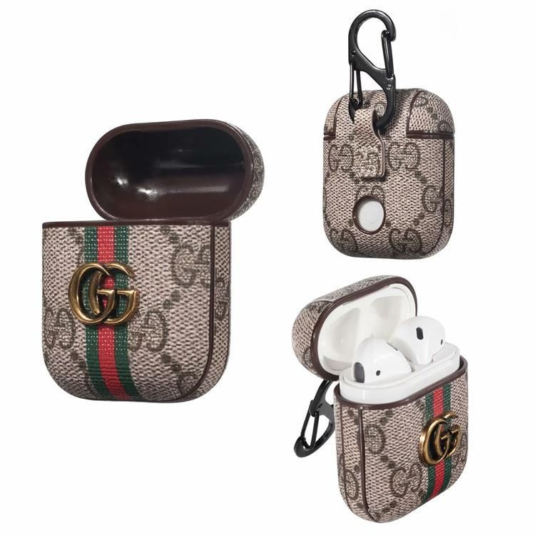 Gg steel sign airpods cases in 2020 iphone leather case