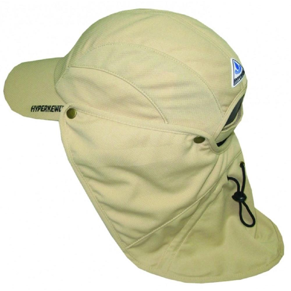 Hyperkewl Khaki Ultra Sport Cooling Hat With Detachable Cooling