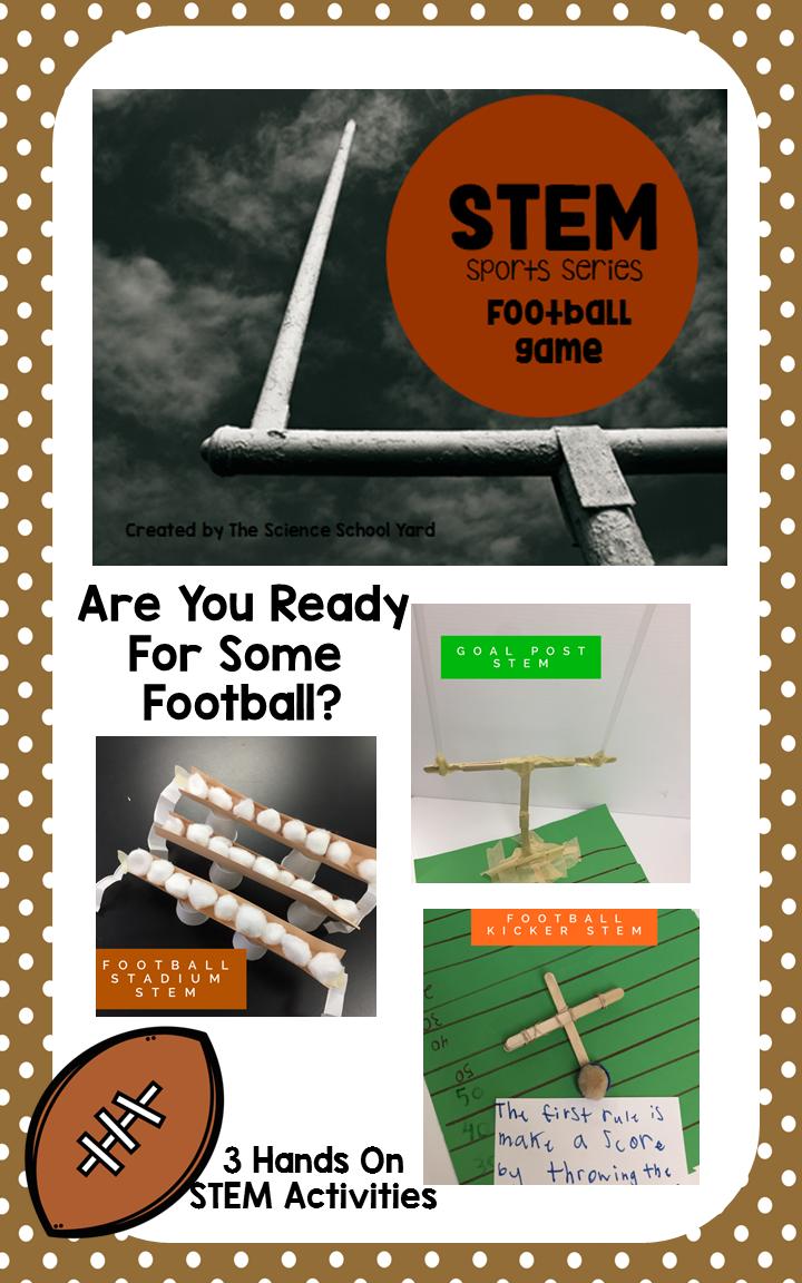 Stem Football Stations Pack Science School Yard Stem Football Stem Activities [ 1152 x 720 Pixel ]