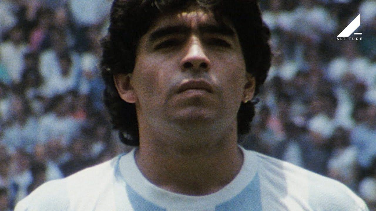 Diego Maradona Official Trailer In Cinemas June 14 Films Complets Diego Maradona Film
