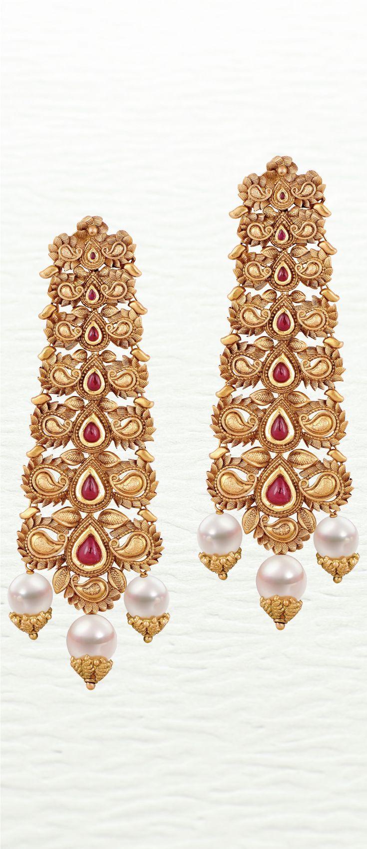 Azva modern handcrafted gold earrings goldjewellery luxury style