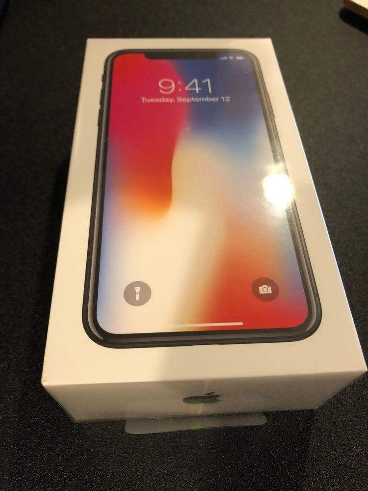 Apple iphone x 256gb space gray unlocked a1865 cdma