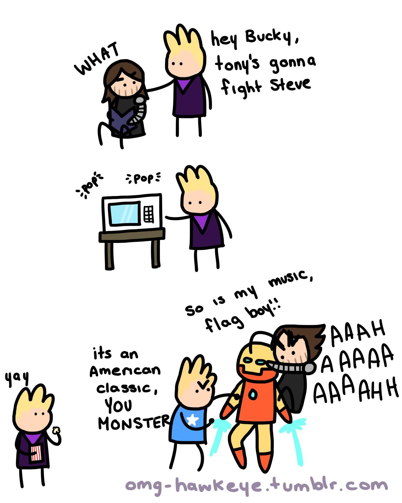 Funny Avengers Imagines