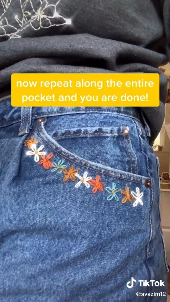 Laisy daisy pocket tutorial