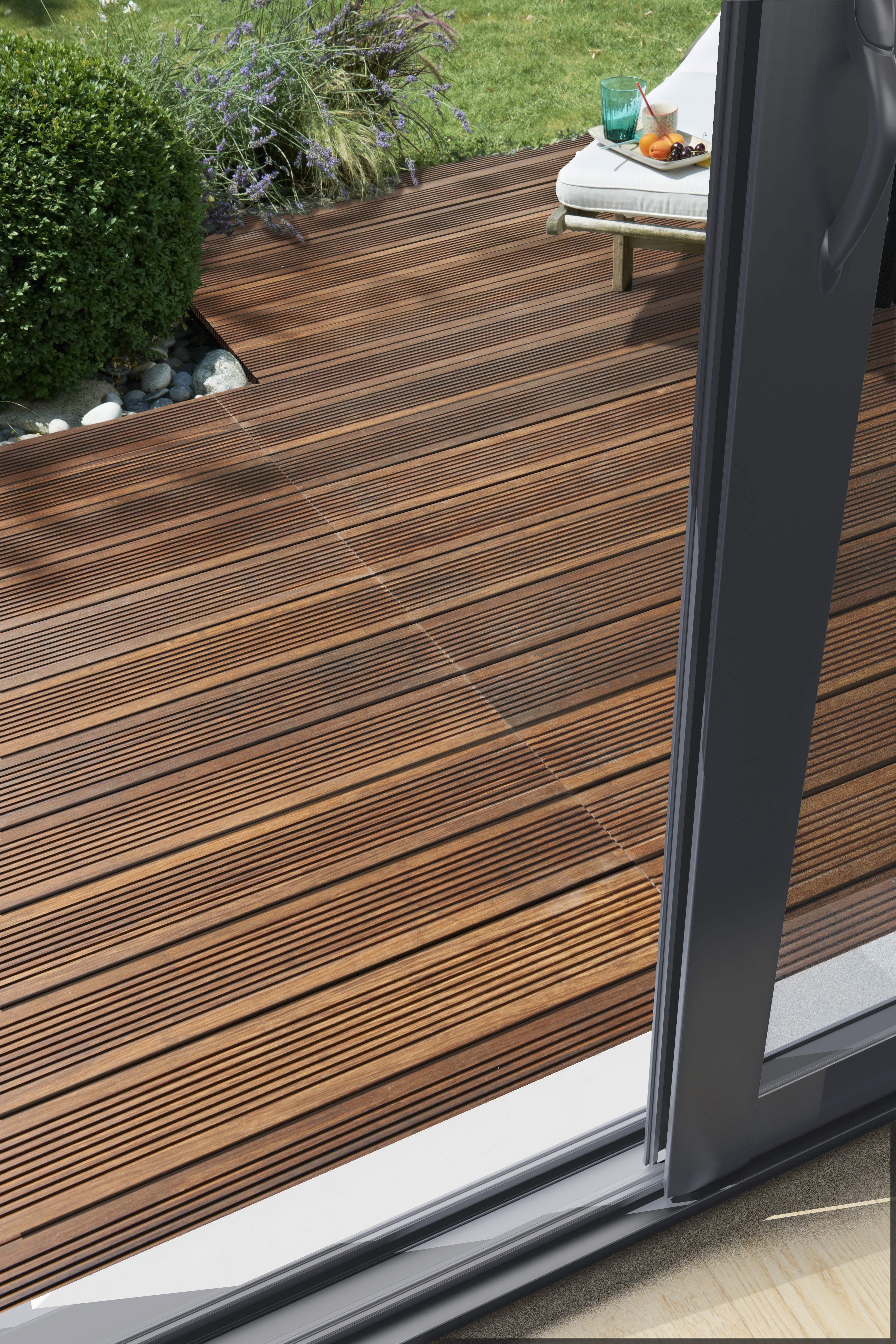 Carrelage Lames Et Caillebotis Des Sols Pour Une Terrasse Design
