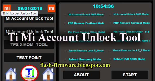 DownloadTI Mi Account Unlock Latest Tool Feature: Mi Account