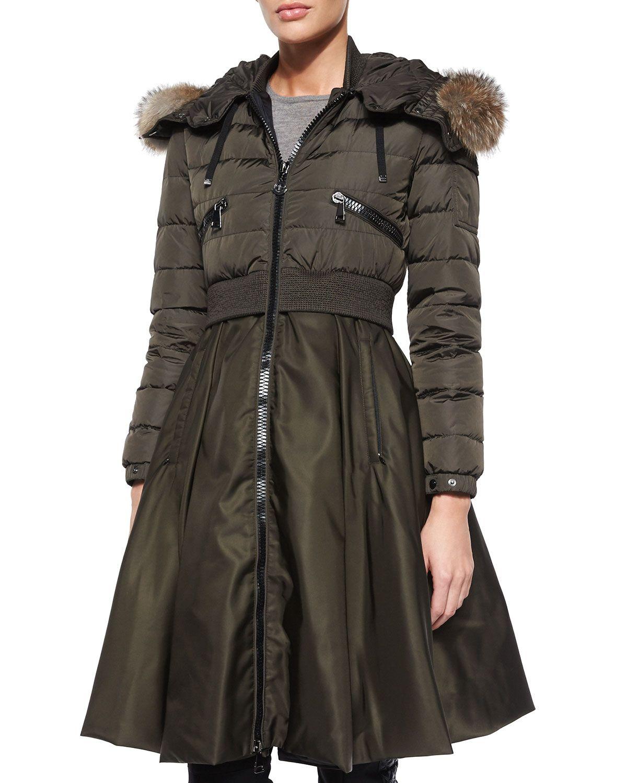 moncler Coats GREEN