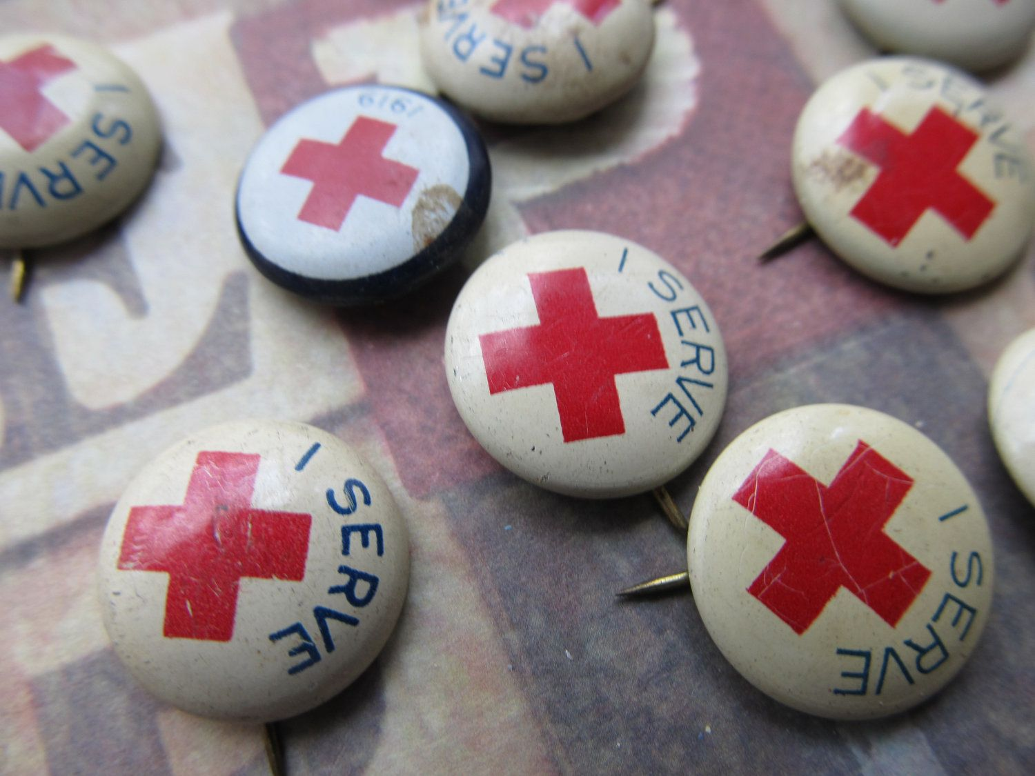 1 vintage red cross pin red cross american red cross and red 1 vintage red cross pin 1betcityfo Gallery