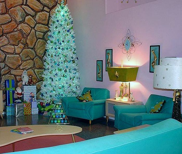 A Vintage Turquoise Christmas