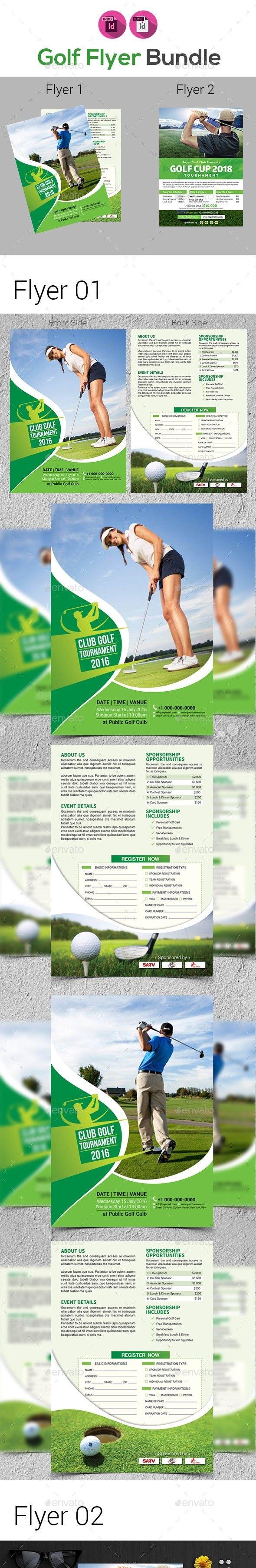 advertising bundle flyer template business course cup elegant
