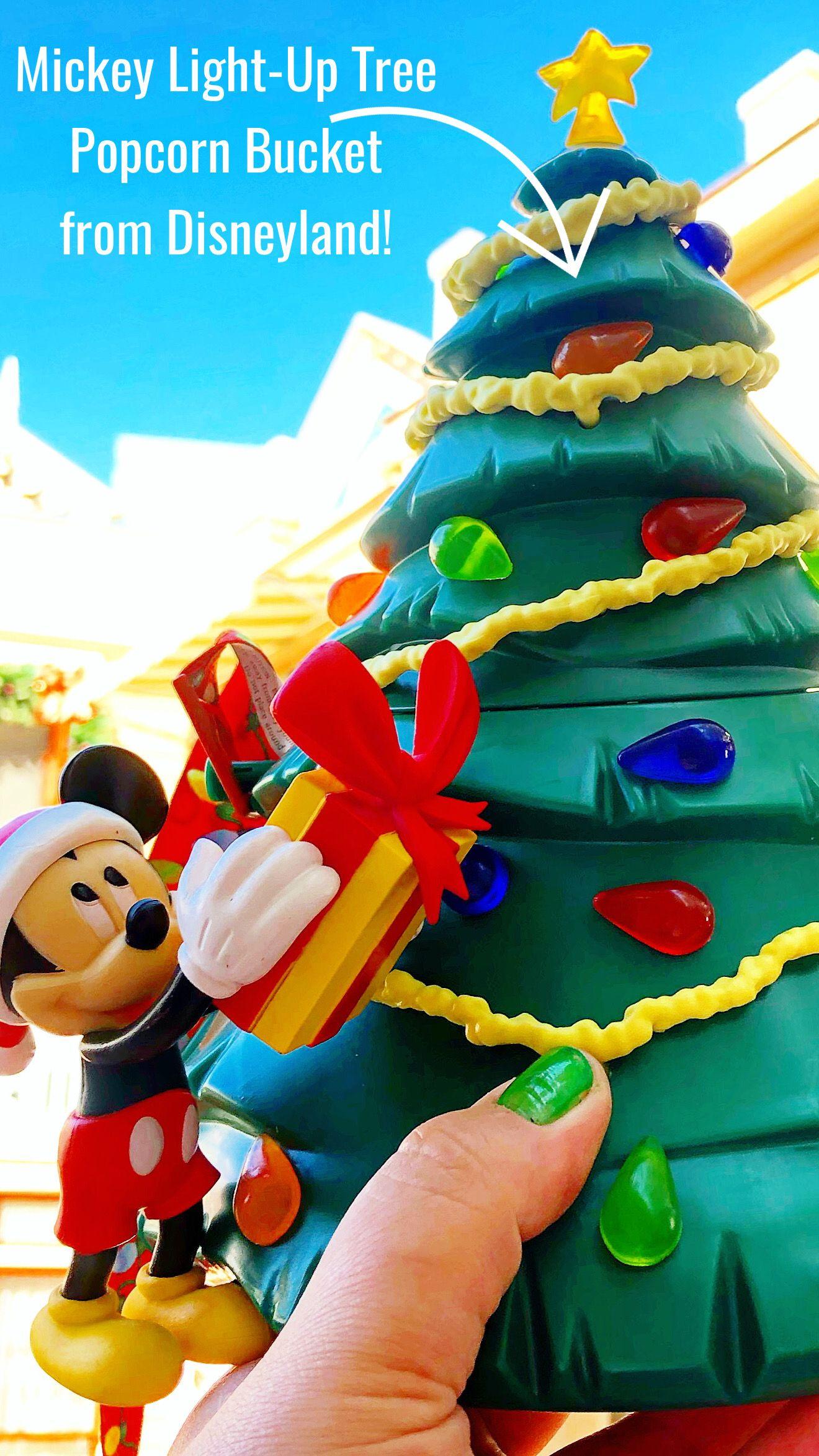 Mickey Light-Up Tree Popcorn Bucket | Disney popcorn bucket, Disney halloween, Popcorn bucket