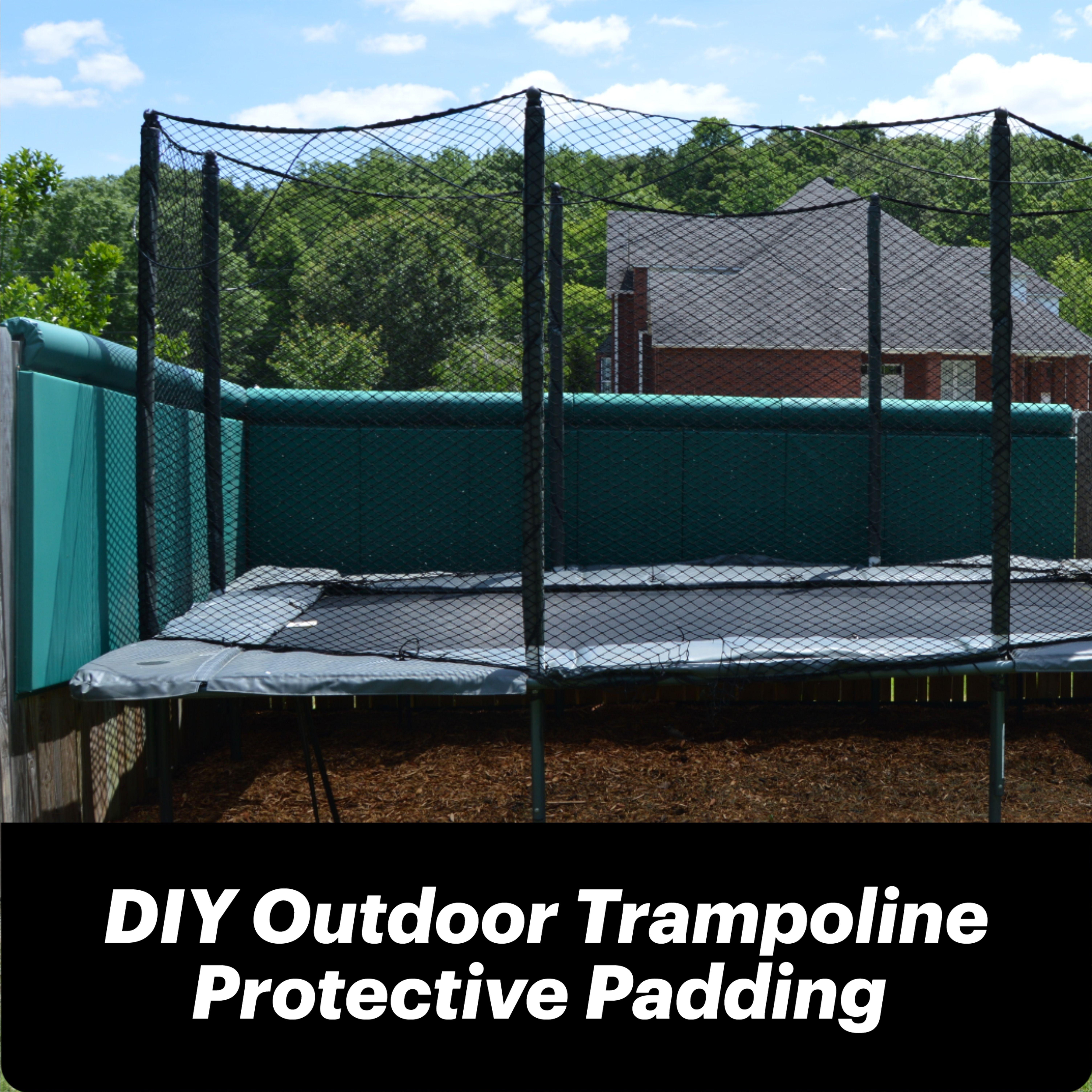 Home Backyard Trampoline Safety Padding