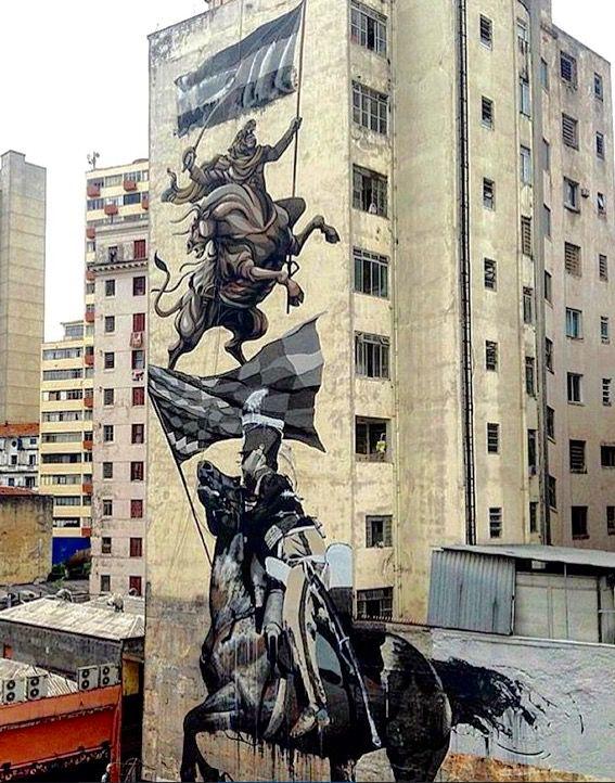 by Conor Harrington + JAZ in São Paulo, 10/15 (LP)