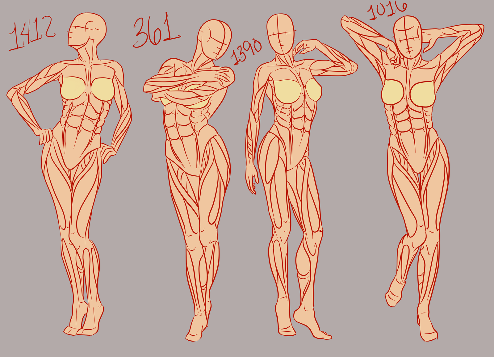 References, they do a body good: Female part 1 by Spork- on ...