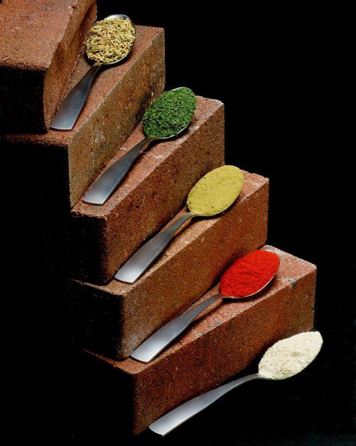 Brick Spice Rack by Shawn Rundblade