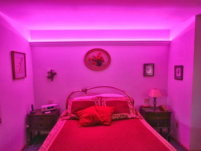Led Strip Light Bedroom Ideas Google Search Apartment
