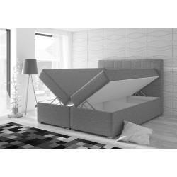 Lonni Boxspringbett inklusive Led Beleuchtung, Material Kunstleder – 180 x 200 cm Möbel-EinsMöbel-Ei - https://bingefashion.com/haus #thegardenroom